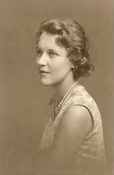 Jean Overton Fuller as a teenager