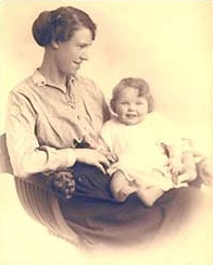 Jean Overton Fuller with her mother, Violet